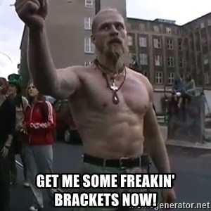 Techno Viking -  Get me some freakin' brackets now!