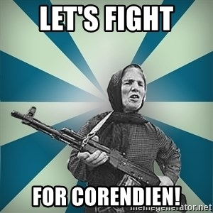 badgrandma - let's fight for corendien!