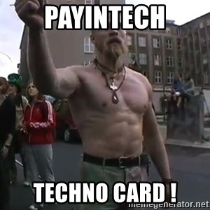 Techno Viking - PayinTech TECHNO CARD !