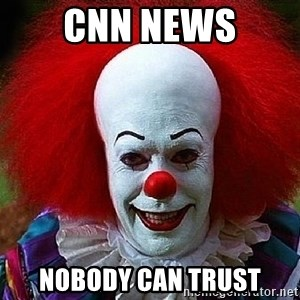 Pennywise the Clown - CNN NEWS NOBODY CAN TRUST