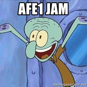 Guess What Squidward - afe1 jam
