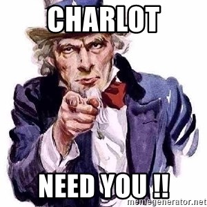 Uncle Sam Says - CHARLOT NEED YOU !!
