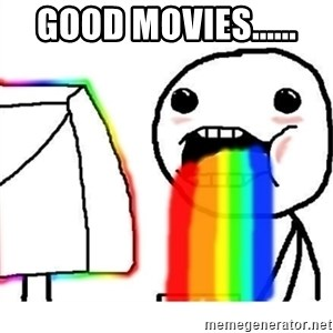 Puking Rainbows - Good Movies......