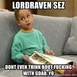 Olivia Cosby Show - lordraven sez dont even think bout fucking with gdab, yo