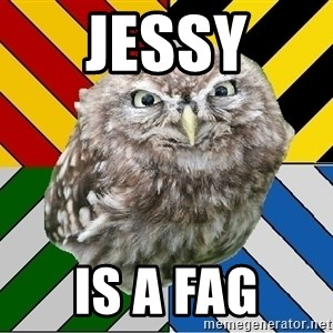 JEALOUS POTTEROMAN - jessy is a fag