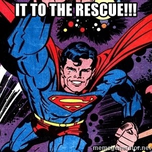 Badass Superman - it to the rescue!!!
