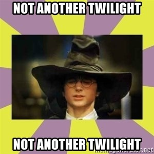 Harry Potter Sorting Hat - Not Another Twilight Not Another Twilight