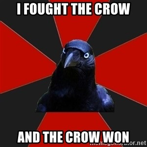 Gothiccrow - I fought the crow And the crow won