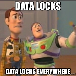 X, X Everywhere  - data locks data locks EVErywhere