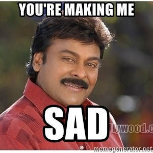 Typical Indian guy - you're making me sad