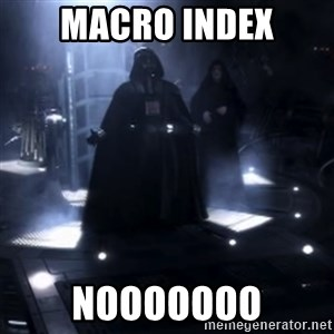 Darth Vader - Nooooooo - Macro index nooooooo