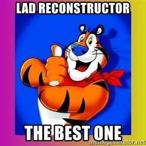 Tony The Tiger - Lad reconstructor The best one