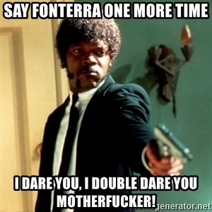 Jules Say What Again - SAY FONTERRA ONE MORE TIME I DARE YOU, I DOUBLE DARE YOU MOTHERFUCKER!