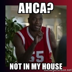 Dikembe Mutombo - AHCA? NOT IN MY HOUSE