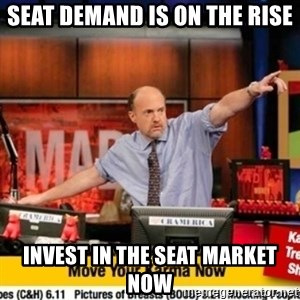 Karma Cramer - seat demand is on the rise INVEST IN THE Seat market now
