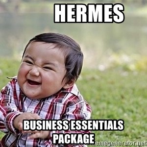 Evil Asian Baby -         hermes business essentials package