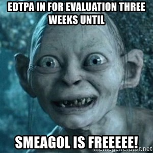 Smeagol is free! - eDTPA IN FOR EVALUATION THREE WEEKS UNTIL sMEAGOL IS fREEEEE!