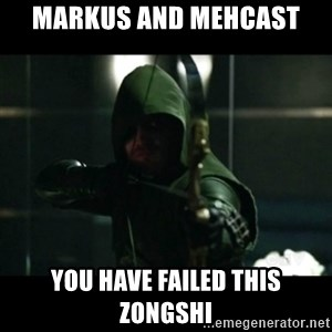 YOU HAVE FAILED THIS CITY - MarkUs and MehcAst You have failed this zongshi