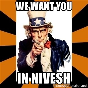 Uncle sam wants you! - We Want you In NIVESH
