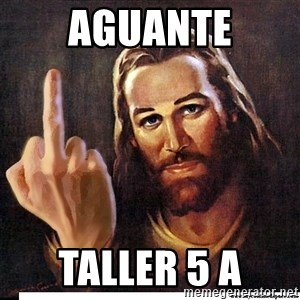 Jesus Ambassador To The Atheists - Aguante Taller 5 A