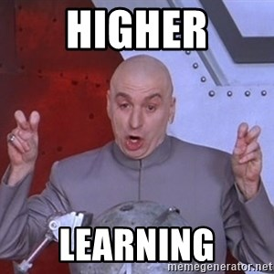 Dr. Evil Air Quotes - Higher Learning