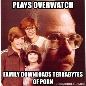 Family Man - PLAYS OVERWATCH FAMILY DOWNLOADS TERRABYTES OF PORN