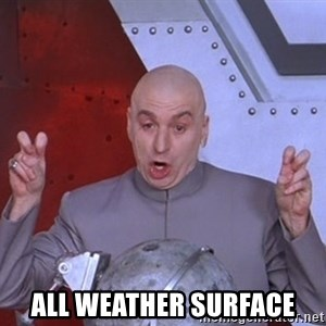 Dr. Evil Air Quotes -  ALL WEATHER SURFACE