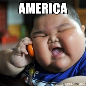 fat chinese kid - America