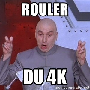 Dr. Evil Air Quotes - Rouler DU 4K