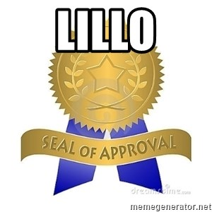 official seal of approval - Lillo