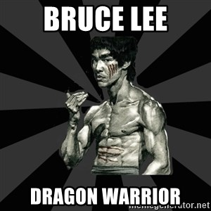 Bruce Lee Figther - bruce lee dragon warrior