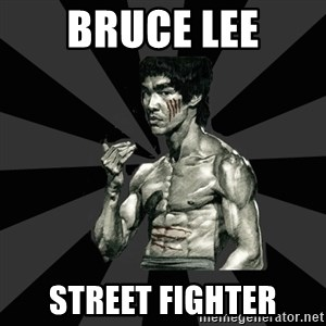 Bruce Lee Figther - bruce lee street fighter