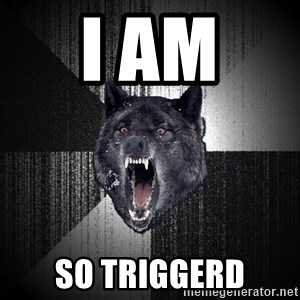 Insanity Wolf - i am  so triggerd