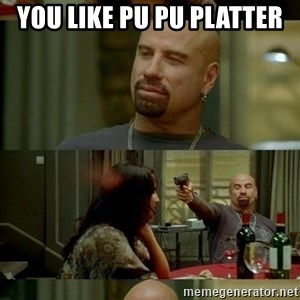 Skin Head John - You like PU PU platter