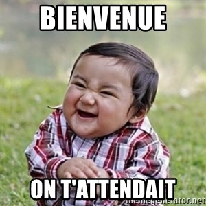 evil toddler kid2 - Bienvenue  On t'attendait