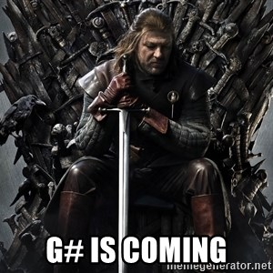 Eddard Stark -  G# is coming
