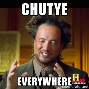 History guy - Chutye Everywhere