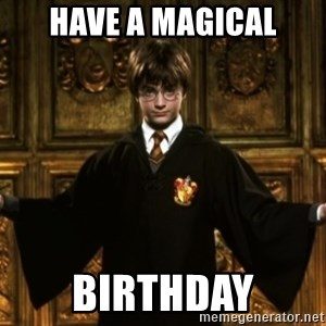 Harry Potter Come At Me Bro - have a magical birthday