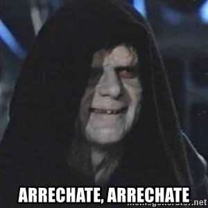 Sith Lord -  arrechate, arrechate