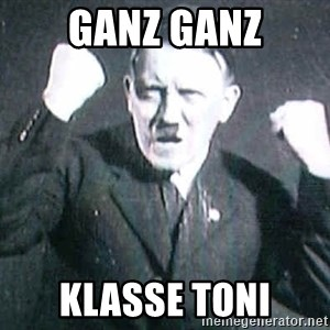 Successful Hitler - Ganz ganz Klasse toni