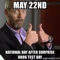 cool story bro house - May 22nd national day after surprise drug test day