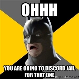 Bad Factman - Ohhh You are going to discord jail for that one