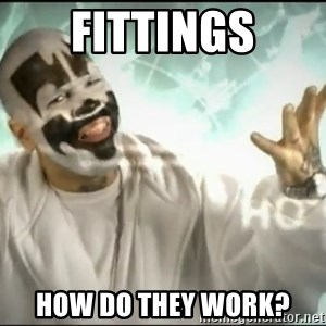 Insane Clown Posse - fittings how do they work?
