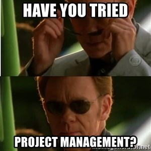 Csi - Have you tried Project management?
