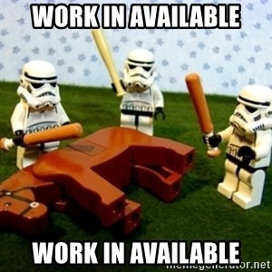 Beating a Dead Horse stormtrooper - Work in AVAILABLE WORK IN AVAILABLE