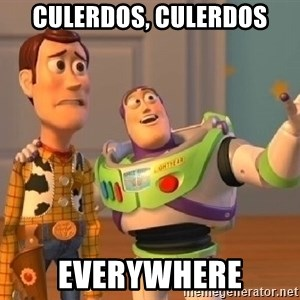 buzz lightyearr - Culerdos, culerdos everywhere