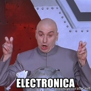 Dr. Evil Air Quotes -  electronica
