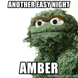 Sad Oscar - Another Easy Night Amber