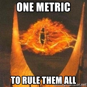 Eye of Sauron - one metric to rule them all