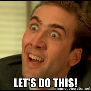 You Don't Say Nicholas Cage -  Let's do this!
